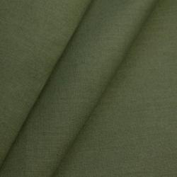 Ткань бязь 150 см олива, пл.100 г.м²