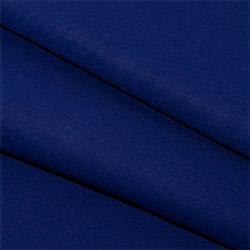 Бязь 150 см синяя пл.120 г.м²