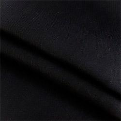 Ткань диагональ 85 см черная пл.203 г.м²