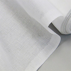 Ткань мадаполам 80 см отбеленный пл.63 г.м²