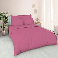 Поплин 220 см цвет Розово лиловый пл.110 г.м²