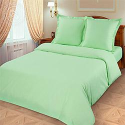 Ткань поплин 220 см, гладкокрашеный цвет Салатовый