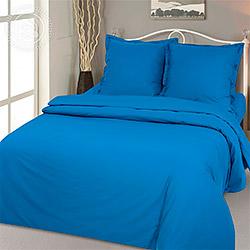 Поплин 220 см, гладкокрашеный цвет Синий