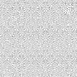 Ткань рогожка 150 см, рисунок Вензель