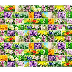 Рогожка 150 см Первоцветы