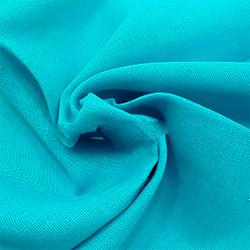 Ткань ситец 80 см бирюзовый пл.65 г.м²