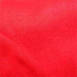 Ткань ситец 80 см красный пл.65 г.м²