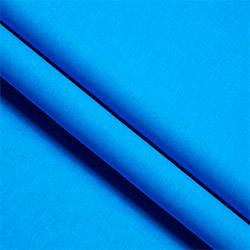 Ткань ситец 80 см синий пл.63 г.м²