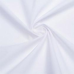 Ткань тиси 150 см твил отбеленная хлопок 55% пл.155 г.м²