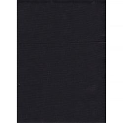 Ткань твил 150 см гладкокрашенный черный пл.195 г.м²