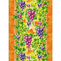 Ткань вафельное полотно 50 см Виноград 1
