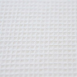 Ткань вафельное полотно отбеленное 45 см пл.120 г.м²