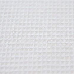 Ткань вафельное полотно отбеленное 80 см пл.110 г.м²