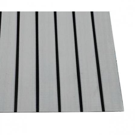 Тик матрасный суровый черная полоса, пл.175 г.м², полосы. Цвет серый. Вид 1